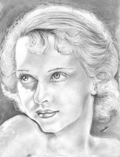 Bette Davis por Christine